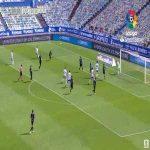 Real Zaragoza 1-0 Almería - Adrian 10'