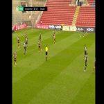 Spvgg Unterhaching [1] - 0 Dynamo Dresden | Stephan Hain 40'