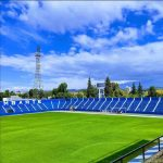 Estadio Feliciano Gambarte. Its the stadium from my team (Godoy Cruz) where we played again today after 15 years