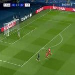 Neuer great save 1 on 1 with Neymar 27'