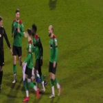 Glentoran [2]-2 Coleraine - Josh Carson own goal from 40 yards (great goal)