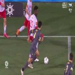 Amazing skill from Adelaide's Al-Hassan Toure to get past 3 Macarthur defenders (A-League)