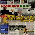 "Galatasaray President Mr. Cengiz: ""We are sick of Ryan Donk's sex parties."""