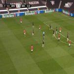 Manchester Utd 1-0 Granada [3-0 on agg.] - Edinson Cavani 6'