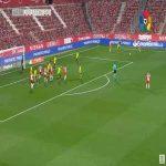 Girona 2-0 Real Zaragoza - Nahuel Lautaro Bustos 65'