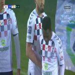 Górnik Zabrze 1-0 Śląsk Wrocław - Alasana Manneh 26' (Polish Ekstraklasa)