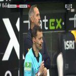 Borussia Mönchengladbach 2-0 Eintracht Frankfurt - Jonas Hofmann 60'