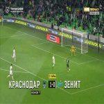 Krasnodar 2-0 Zenit - Aleksey Ionov 61'