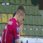 Raków Częstochowa 2-0 Lech Poznań - Kamil Piątkowski 29' (Polish Ekstraklasa)