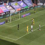 Swansea [1]-2 Wycombe - Jamal Lowe penalty 80'