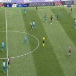 Bologna 2-0 Spezia - Musa Barrow 18'