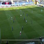 Club Brugge 0-1 Mouscron - Hamdi Harbaoui 51'