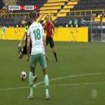 Dortmund [1]-1 Bremen - G. Reyna 29' (great goal)