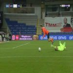 Harun Tekin (Fenerbahce) penalty save against Basaksehir 88'