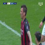 Milan [2]-1 Genoa - Gianluca Scamacca OG 68'