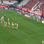 Georgi Makaridze (Almeria) penalty save against Espanyol 69'