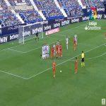 Leganes 1-[1] Ponferradina - Oscar Sielva free-kick 75'