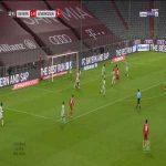 Bayern Munich [2] - 0 Bayer Leverkusen - Joshua Kimmich 13'