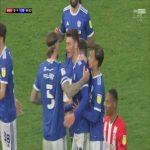 Brentford 0-[1] Cardiff - Kieffer Moore penalty 57'