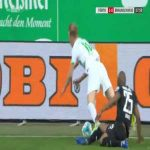 Greuther Furth 2-0 Braunschweig - Branimir Hrgota penalty 19'
