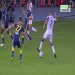 Verona 0-1 Fiorentina - Dusan Vlahovic penalty 45'+2'