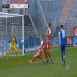 Wurzburger Kickers 0-1 Darmstadt - Serdar Dursun penalty 45'+1'