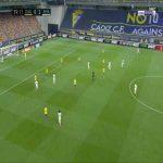 Cadiz 0-3 Real Madrid - Karim Benzema 40'