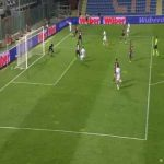 Crotone 0-1 Sampdoria - Fabio Quagliarella 53'