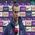 "Gareth Bale post-match interview | Bale reacts to winning in the first game under interim manager Ryan Mason: ""Very good team talk at half-time."""