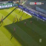 Karlsruhe 1-0 Wurzburger Kickers - Kyoung-Rok Choi 27'