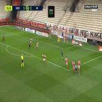 Reims 1-[3] Marseille - Dimitri Payet 76'