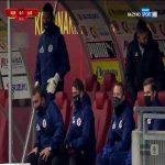 Korona Kielce 0-1 ŁKS Łódź - Tomasz Nawotka 51' (Polish I liga)