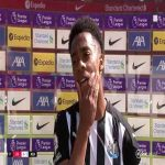 "Willock: ""Super sub? Nah, that's not my label. I'm trying to do my best even if I get 10-15 minutes. I'm really enjoying my football at the moment at Newcastle. Happy that I was able to help the team again."" 