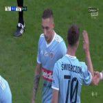 Zagłębie Lubin 0-1 Piast Gliwice - Jakub Świerczok 21' (Polish Ekstraklasa)