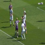 Fiorentina 1-0 Juventus - Dusan Vlahovic penalty 29'