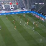 Monchengladbach 2-0 Arminia Bielefeld - Marcus Thuram 15'