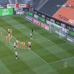Monchengladbach 3-0 Arminia Bielefeld - Ramy Bensebaini penalty 18'