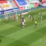 Regensburg 1-0 Hamburger SV - Andreas Nielsen Albers 45'