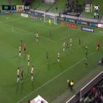 "Western United vs Newcastle Jets ""throw-in"" attempt in the A-League"