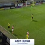 Burton [4]-1 Fleetwood - Kane Hemmings 85'
