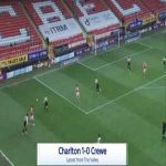Charlton 1-0 Crewe - Jayden Stockley 10'