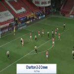 Charlton 2-[2] Crewe - Owen Dale 90'+6'