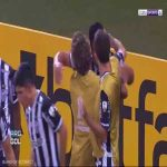 Atlético-MG [1] - 0 América de Cali - Hulk penalty 59'