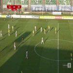 Zagłębie Sosnowiec 2-[3] Arka Gdynia - Adam Deja 78' FK from the halfway line (Polish I liga)