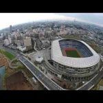 Olympic soccer venue : Nissan Stadium. The Largest stadium in Japan!