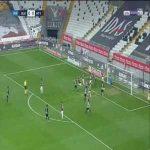 Besiktas 1-0 Hatayspor - Babajide David Akintola OG 2'