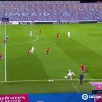 Hazard backheel pass vs Osasuna