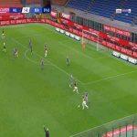 Milan 2-0 Benevento - Theo Hernandez 60'
