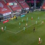 Utrecht 1-0 Willem II - Sander van de Streek 4'