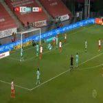 Utrecht 2-0 Willem II - Sven van Beek OG 45'+4'